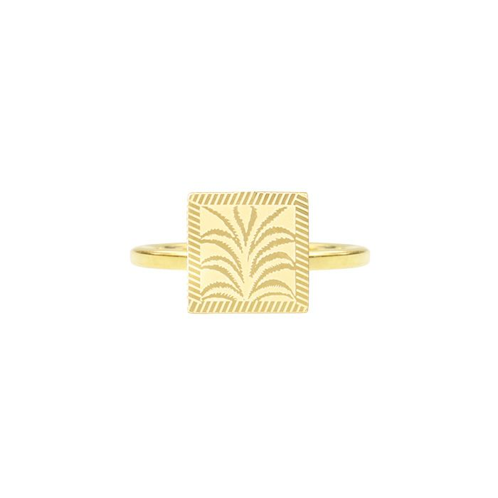Ring palm goud My Jewellery