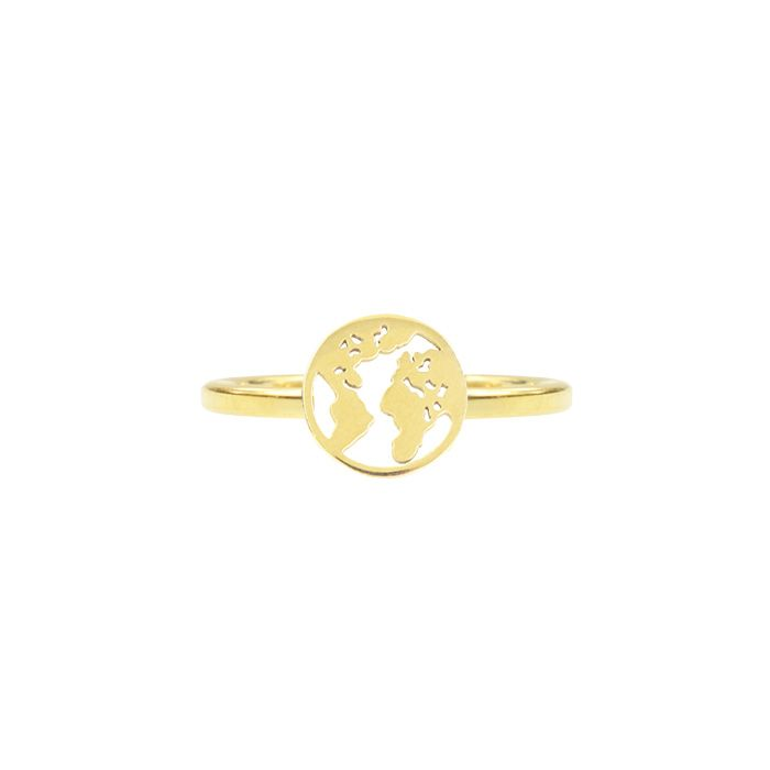 Ring wereld goud My Jewellery