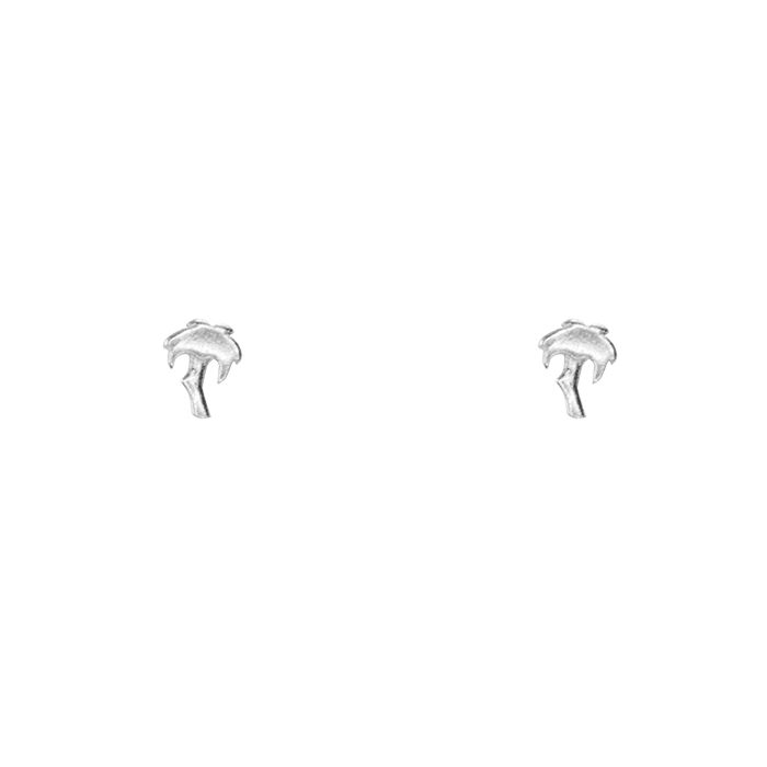 Studs palmboom, sterling zilver My Jewellery