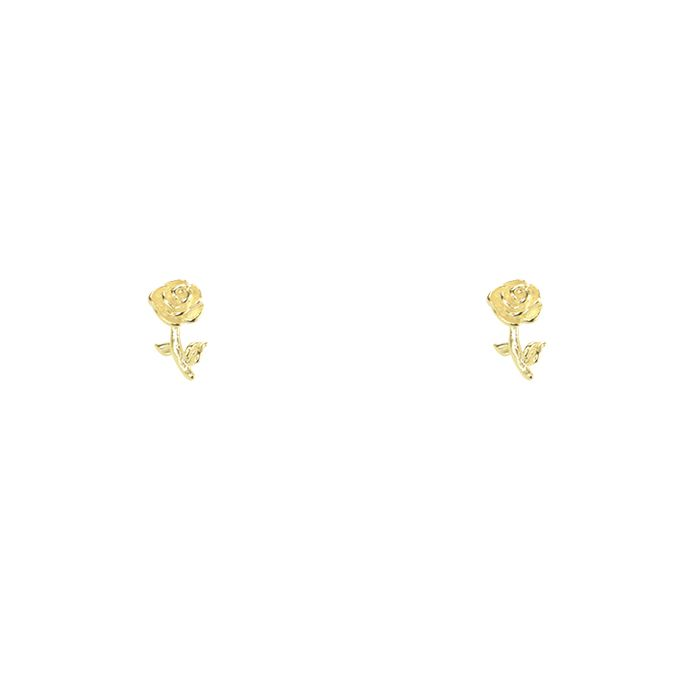 Studs heel roosje, Minimalistische oorbellen My Jewellery