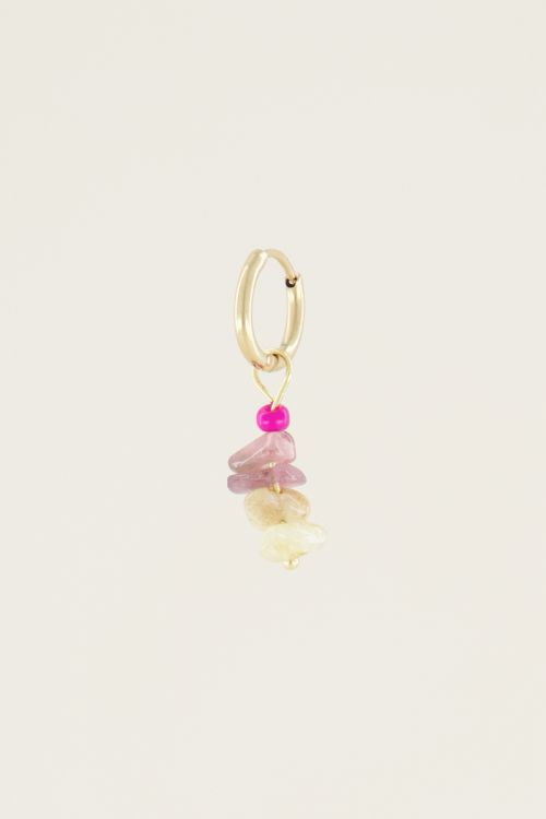 Moments one piece multi-colour stone   Earrings with gemstone My Jewellery