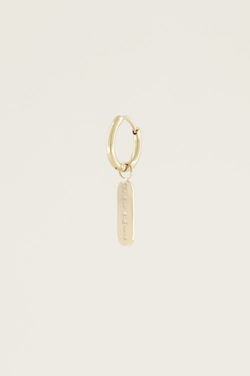 Moments one piece dream   One piece earring My Jewellery