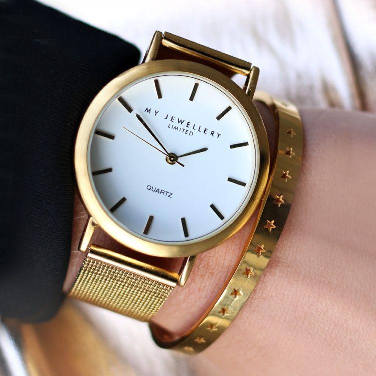 horloge goud my jewellery