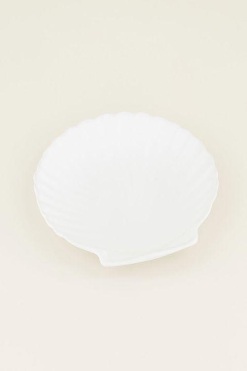 Witte schaal schelp | witte schaal | my Jewellery