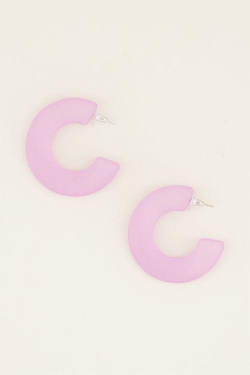 Statement oorbellen | Ronde oorbellen | My Jewellery