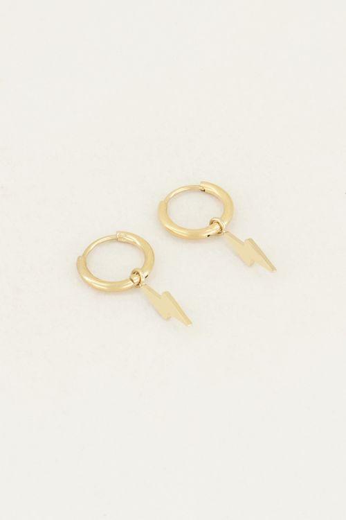 Earrings with lightning bolts | Lightning earrings My Jewellery