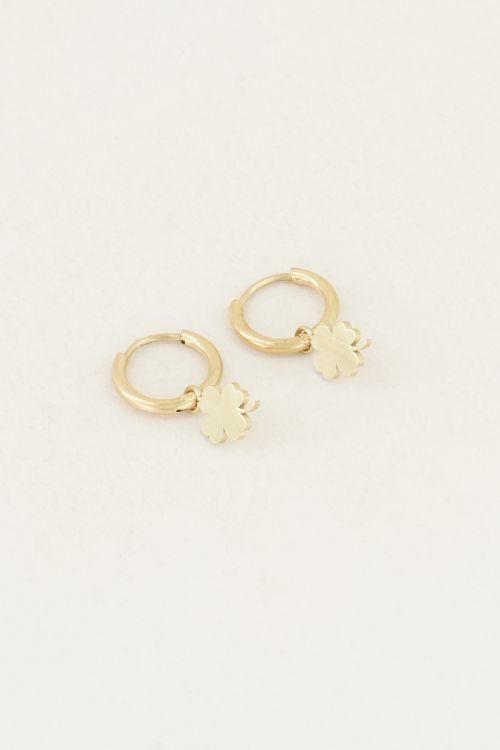 Clover earrings | Charm earrings My Jewellery