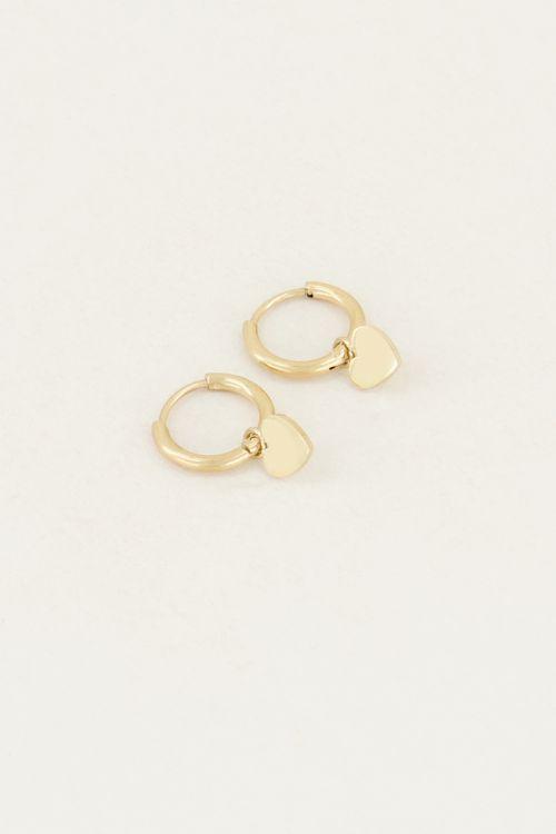 Earrings with heart | Heart earrings My Jewellery