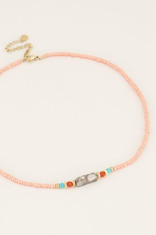 Choker   Choker met kralen   My Jewellery