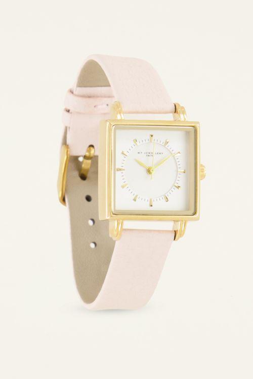 Beige square watch | My Jewellery