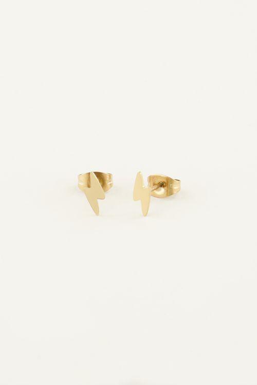 Lightning bolt studs | Earrings | My Jewellery