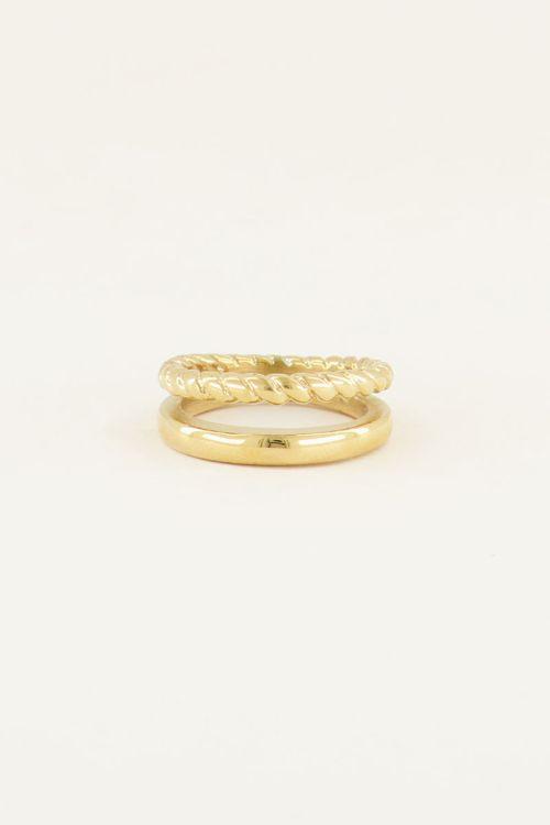 Dubbele ring   Ringen   My Jewellery