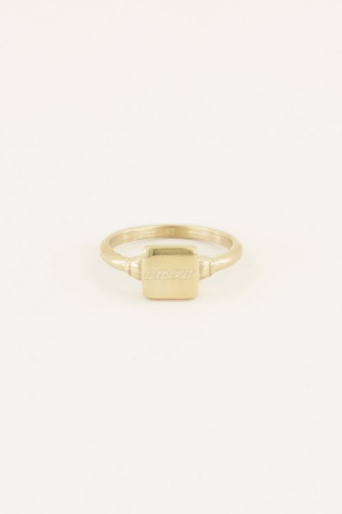 Siegelring Amour| Siegel Ringe| My Jewellery