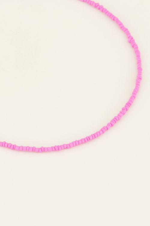 Moments kralen ketting roze  My Jewellery