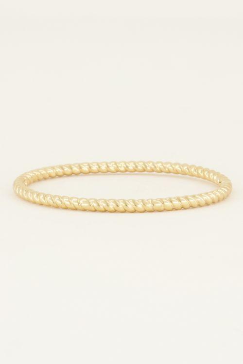 Bangle gedraaid | Bangles | My Jewellery