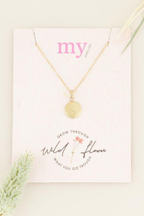 Ketting yin & yang  Kettingen   My Jewellery