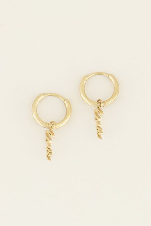 My Jewellery Oorringen Love
