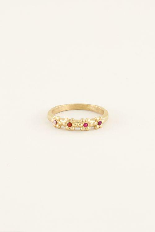 Ring vier bloemetjes | Ringen | My Jewellery