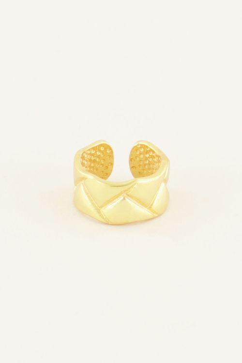 Ear cuff met patroon   My Jewellery