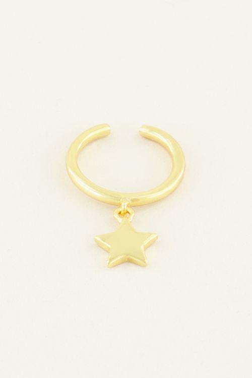 My Jewellery Ear Cuff Hangend Sterretje