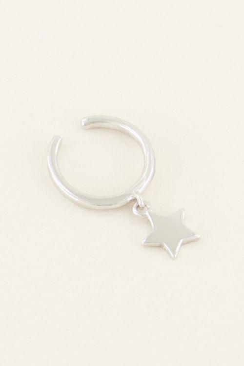Ear cuff hangend sterretje | My Jewellery