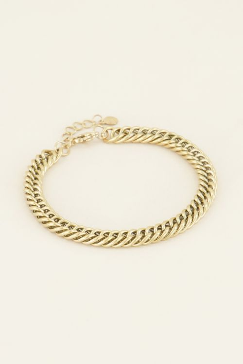 Bracelet thick chains | Shop at My Jewellery