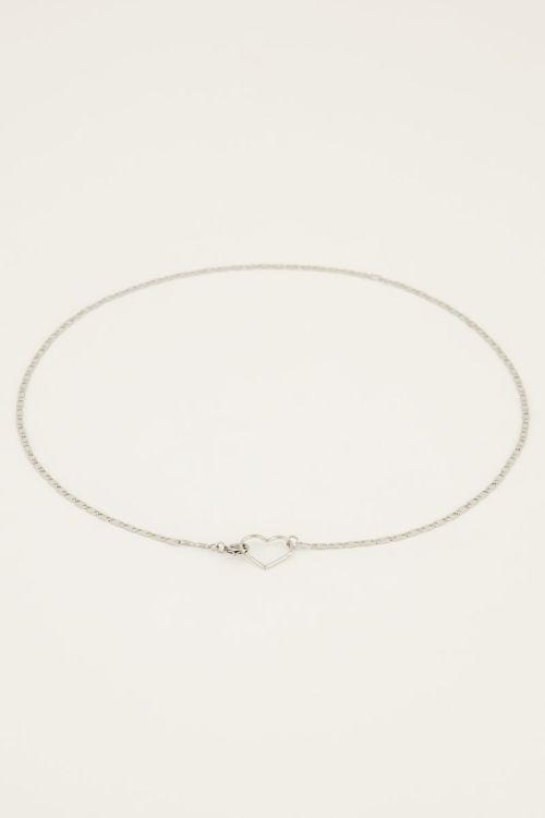 Halskette mit Herzverschluss   My Jewellery