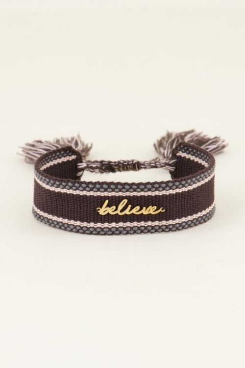 Bohemian armbandje believe   My Jewellery