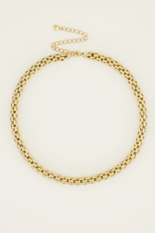Chunky chain necklace detail | My Jewellery