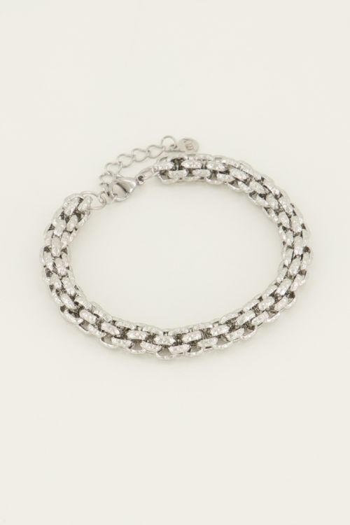 Bracelet chunky chains detail | My Jewellery