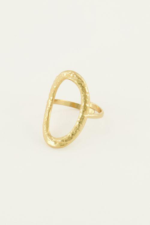 Ring open ovaal | My Jewellery