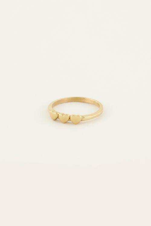 Ring 3 hartjes | My Jewellery