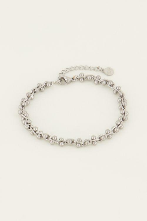 Schakelarmbandje bolletjes | My Jewellery