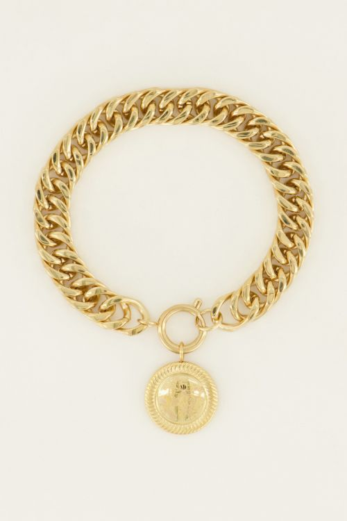 Schakelarmband lucky coin | My Jewellery