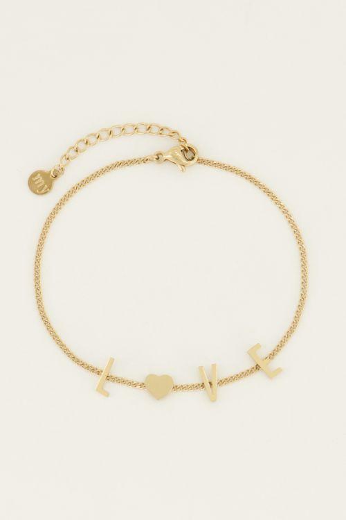 Bracelet love letters   My Jewellery