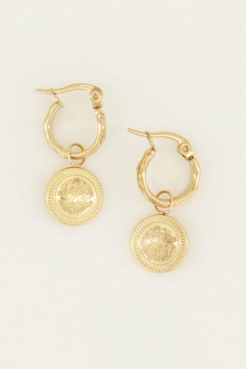 Oorringen munt  | My Jewellery