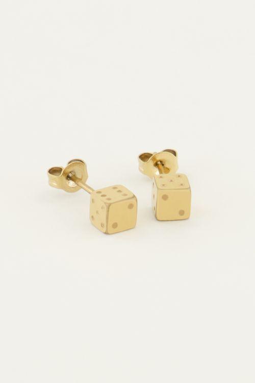 Studs dobbelsteen | My Jewellery