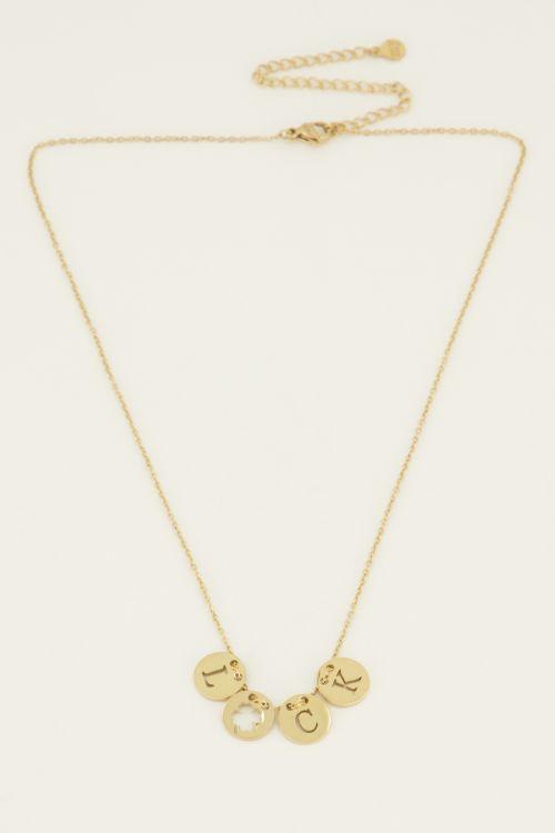 Ketting luck rondjes   My Jewellery