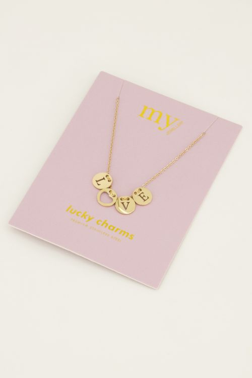 Ketting love rondjes   My Jewellery