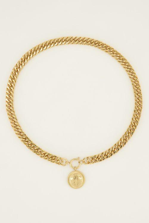 Schakelketting munt   My Jewellery