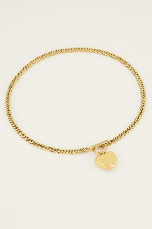 Schakelketting hart   My Jewellery