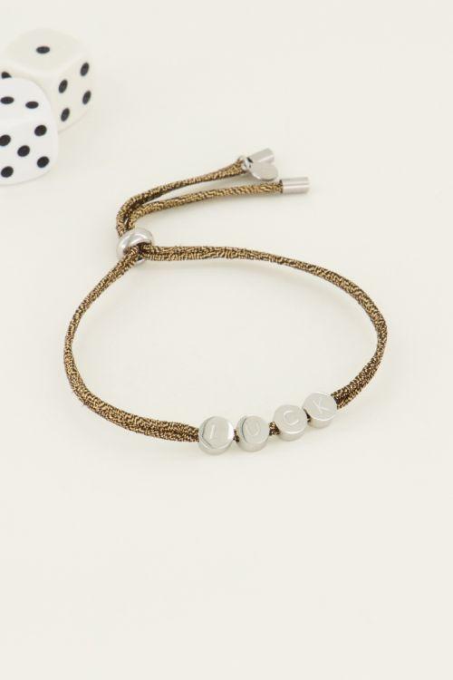 Touw armband luck | My Jewellery