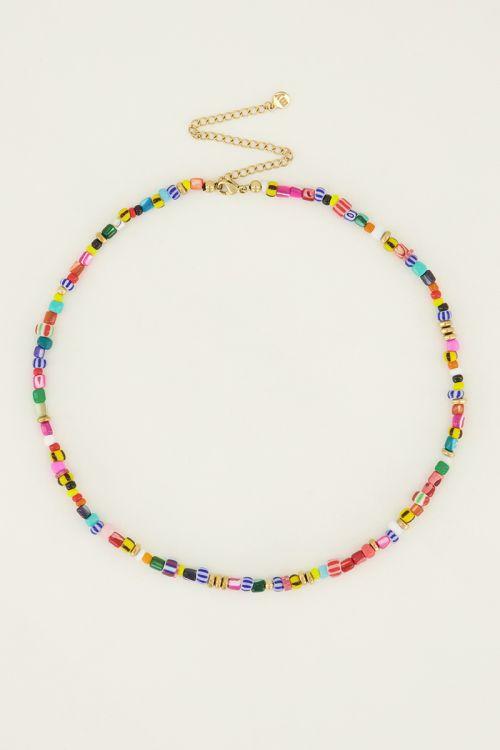 Multikleur ketting met kralen | My Jewellery