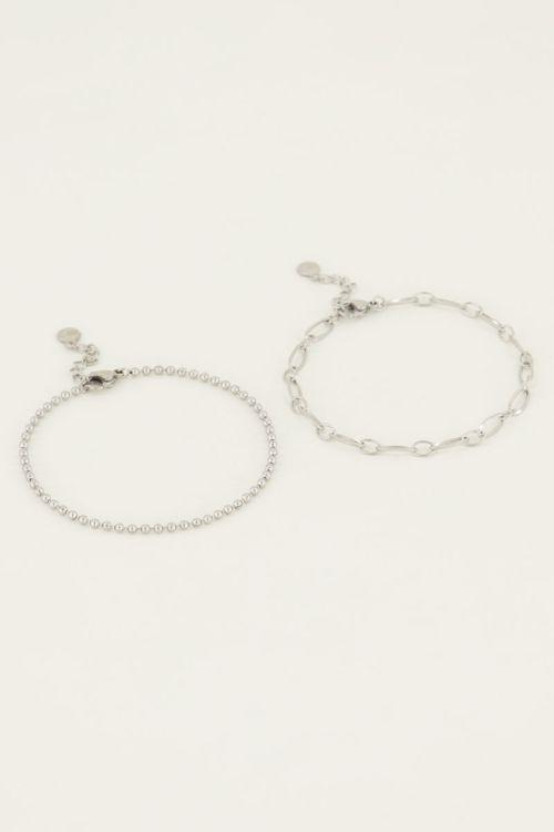 Set of two beaded bracelets | My Jewellery