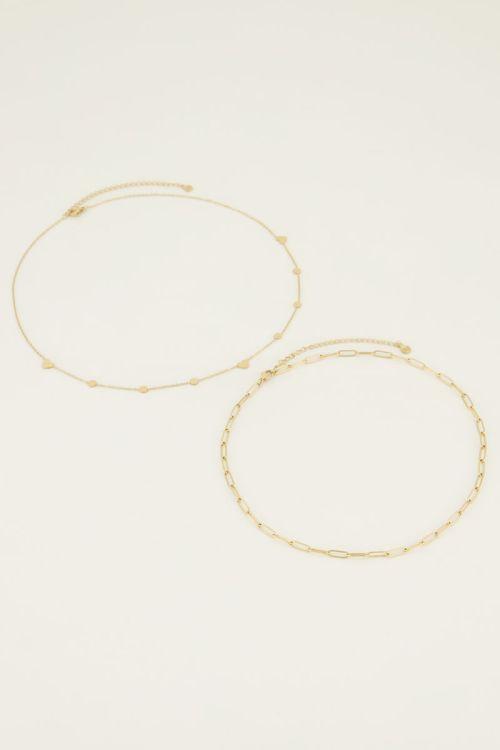 Kettingen set schakel | My Jewellery