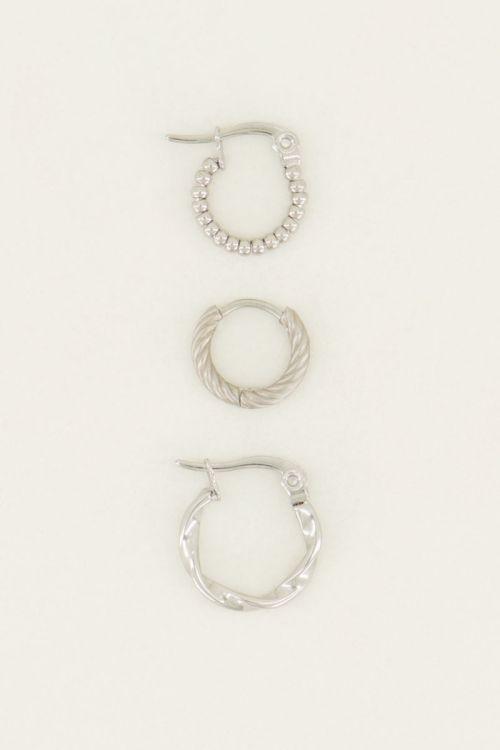 Oorbellen set gedraaid | My Jewellery