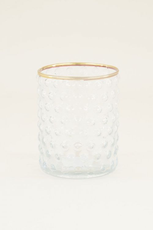 Glas gouden randje | Waterglazen | My Jewellery