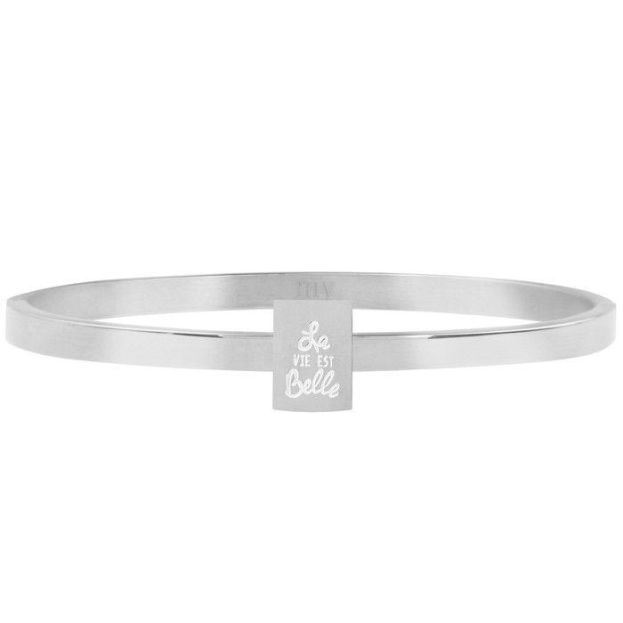 My Jewellery Armbanden plaatje quote roestvrij staal