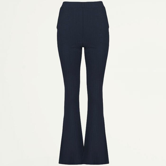 Flared broek zwart strepen, flared pants