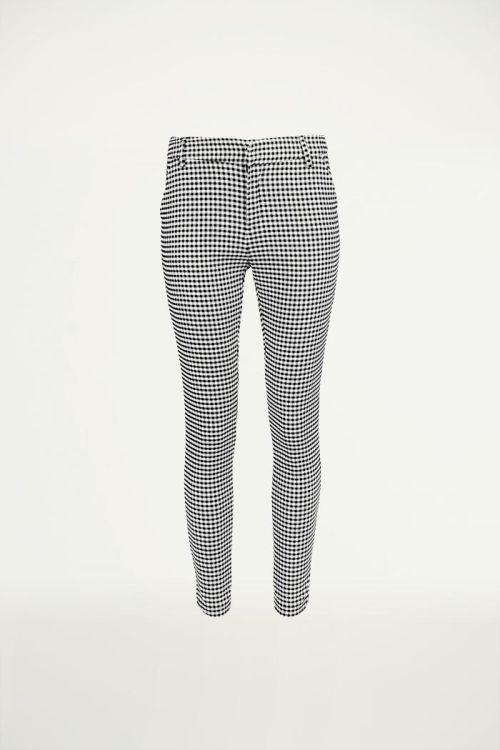 Geruite broek zwart wit, Pantalon